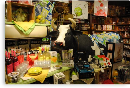 Daisy's Country Store by Sandra Fortier