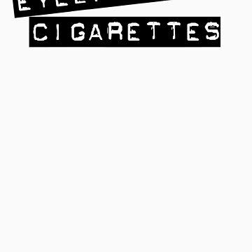 Eyeliner and Cigarettes by drunkenvictim