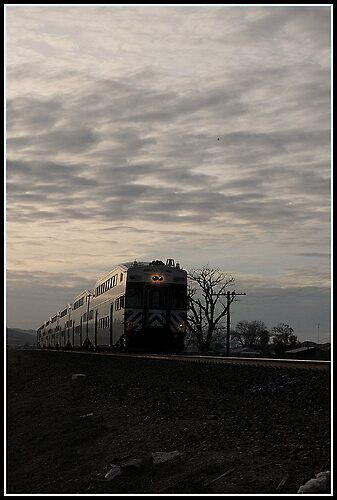 Ace Train by Justin Emery