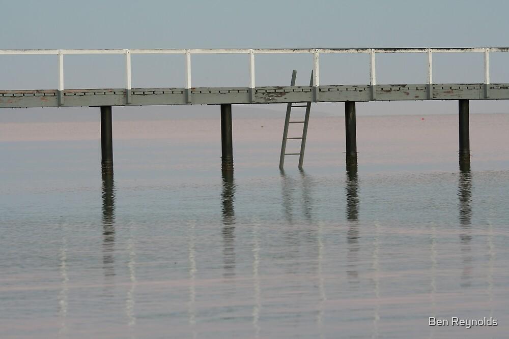 jetty steps by Ben Reynolds