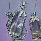 Blowing Rock Bottles by emilypageart