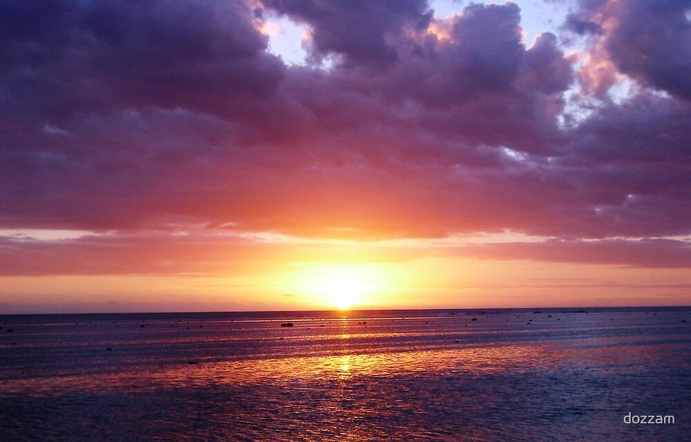 Fijian Sunset by dozzam