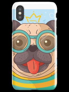 Custom Design Pug Case