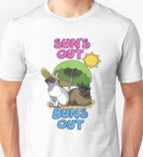 Sun's Out Buns Out Unisex T-Shirt