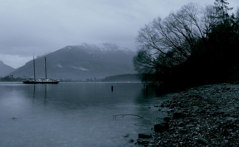 lake winter by grayphoto