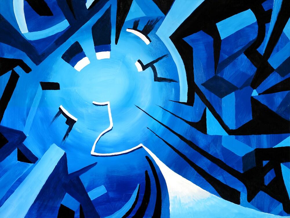 Blue Path by Clayton Kashuba