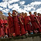 Young Monk Group by Rene Edde