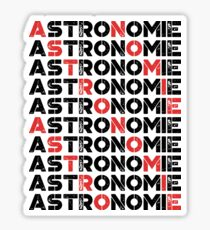 Astronomie  Sticker