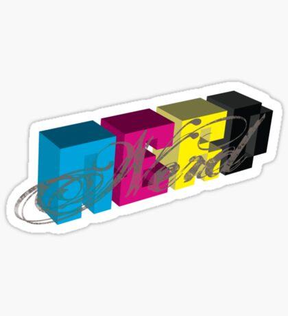 Nerd pride Sticker
