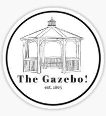 The Gazebo! Sticker