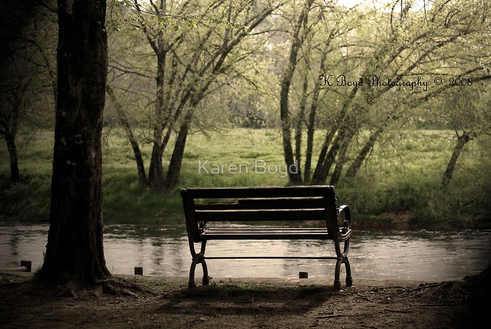The Bench by Karen Boyd