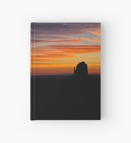 Mittens At Sunrise Hardcover Journal