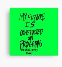 Future in Programming Canvas Print