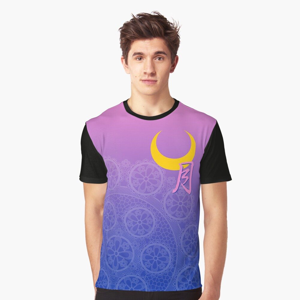The Moon Collection Graphic T-Shirt