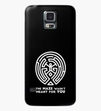 Westworld - The Maze Wasn't Meant for You (White Version) Case/Skin for Samsung Galaxy