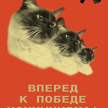 Communist Cat! by FMMr