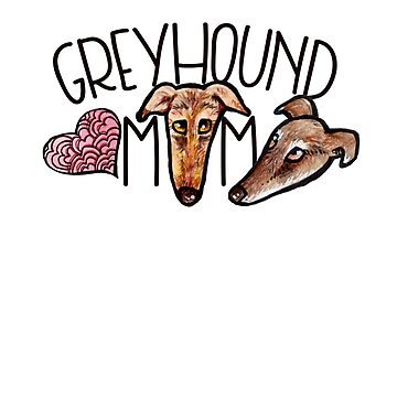 Greyhound mom by Boogiemonst
