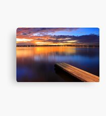 Swan River Jetty - Western Australia  Canvas Print