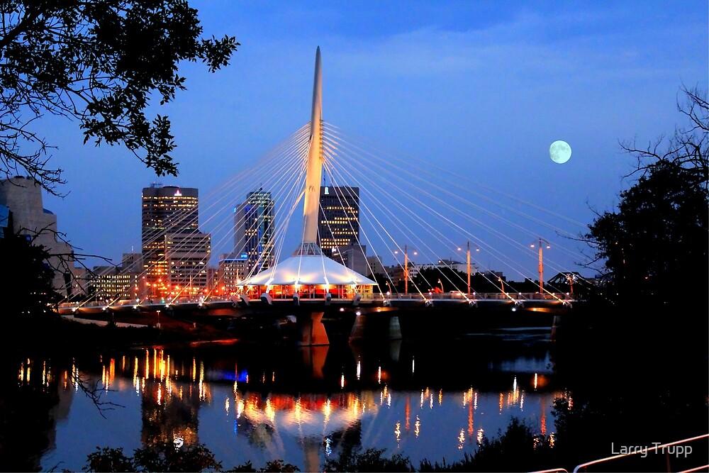 Downtown Winnipeg by Larry Trupp