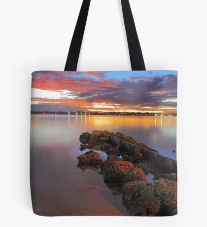 Swan River Sunset  Tote Bag
