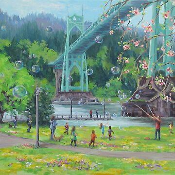 Bubbly Bridge by karenilari