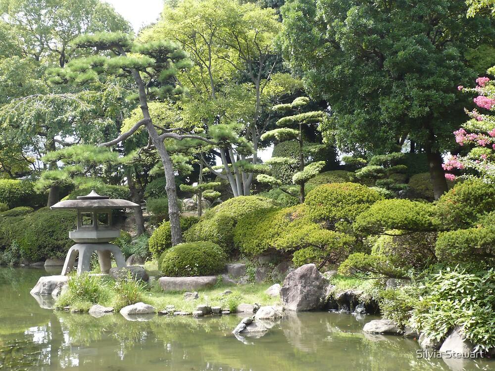 Japanese garden 3 by Silvia Solberg