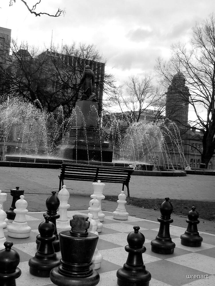 Giant Chess by wrenart