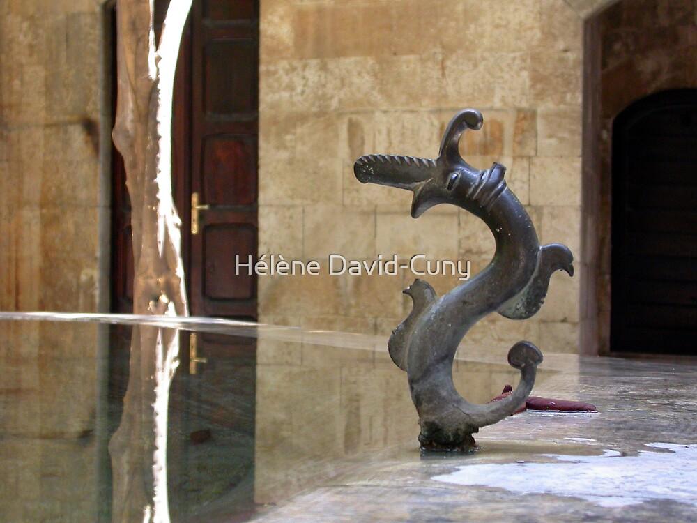 The fountain by Hélène David-Cuny