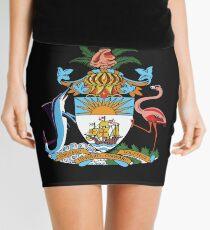 Bahama Coat of Arms National Design Mini Skirt
