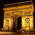 Arc de Triomphe by Tim Condon