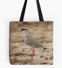 Crowned Lapwing Tote Bag