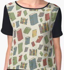 Books, Books, Books Chiffon Top