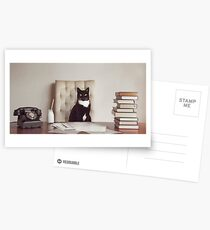 Corporate Cat Postcards