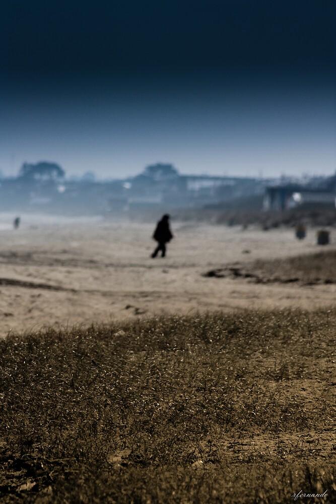 Lonesome Stranger by Rukshan Fernando