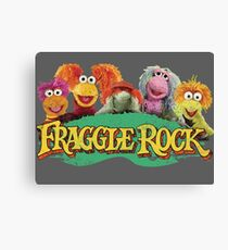 Fraggle Rock Fraggles 80s Muppets Cartoon Canvas Print