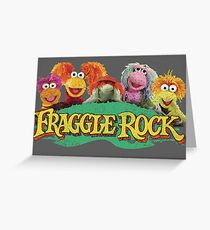 Fraggle Rock Fraggles 80s Muppets Cartoon Greeting Card