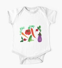 Mixed Vegetables  One Piece - Short Sleeve