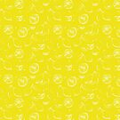 Lemons  happy yellow von youdesignme