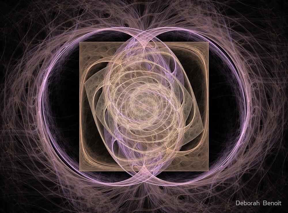 Spiral Square by Deborah  Benoit