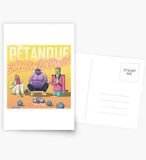 Pétanque Showdown Postcards