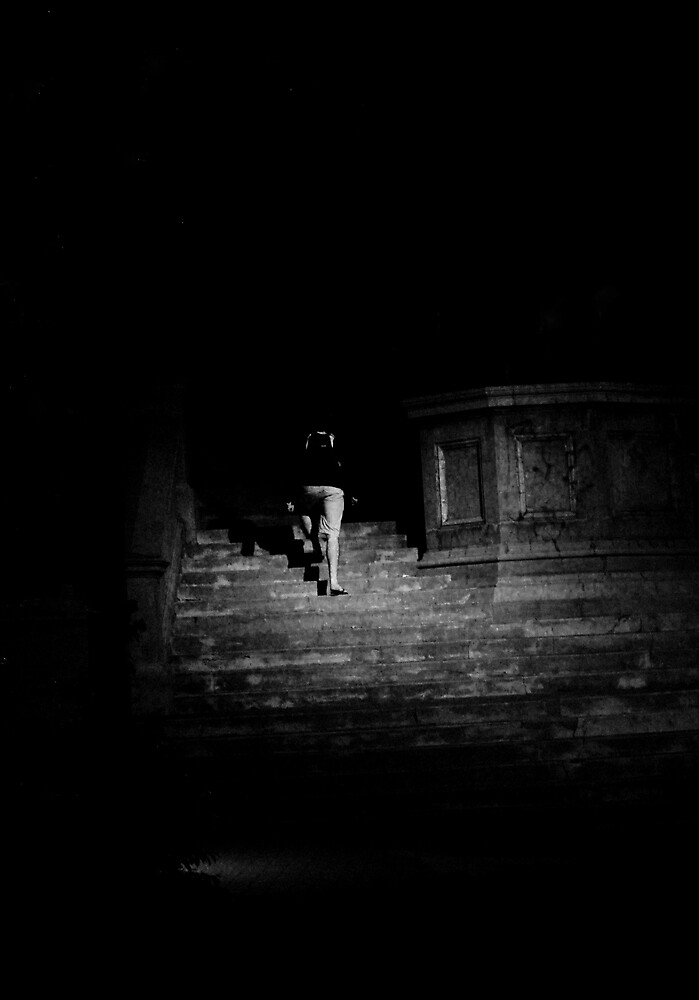 I followed you into a dark place. by Elizaday