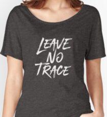 Hinterlasse keine Spuren Baggyfit T-Shirt