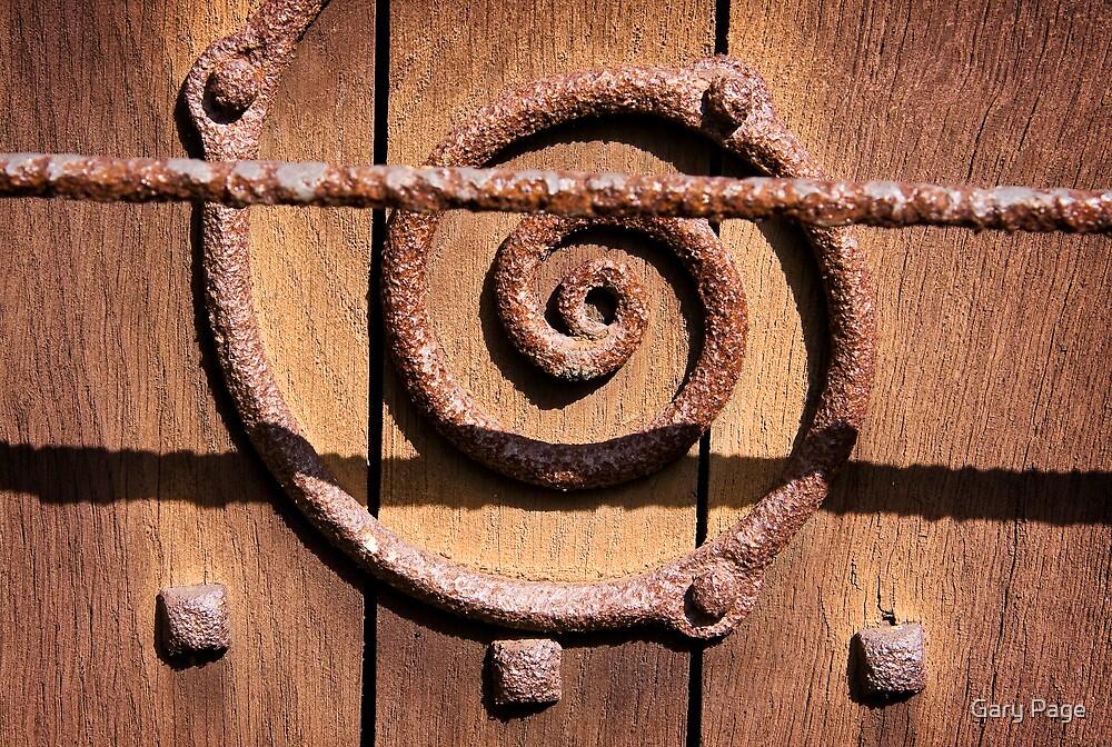 Rusty Swirl by Gary Page