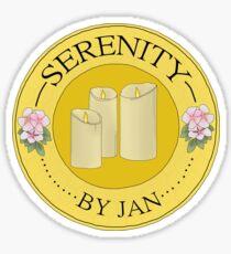 Serenity by Jan Sticker Sticker