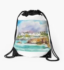 shoreline Drawstring Bag