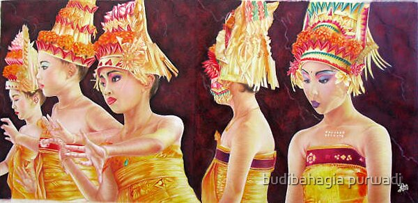 "Bali Girls ""Jelous and Anger"" by budibahagia purwadi"