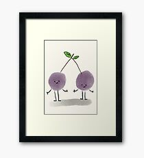 Couple of sweet grapes Framed Print