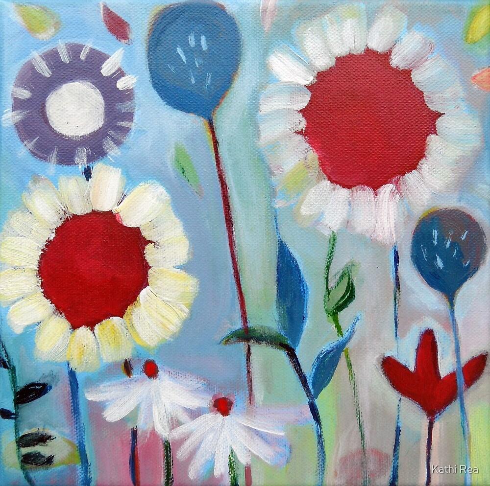 Playful Field of Flowers Nr. 3 by penandstrings