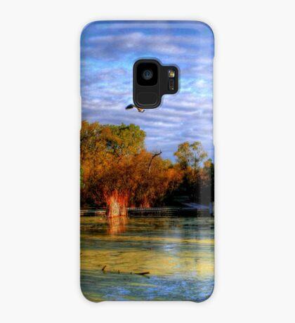 Autumn on the Boardwalk Case/Skin for Samsung Galaxy