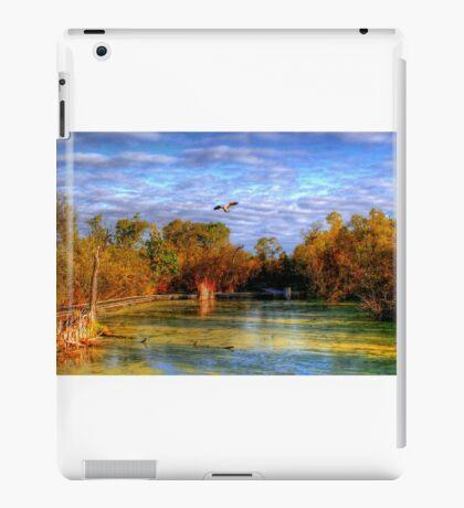 Autumn on the Boardwalk iPad Case/Skin